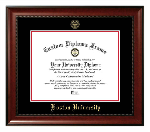 Boston University Revere Diploma Frame
