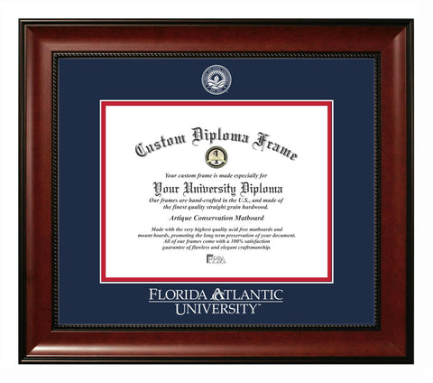 Florida Atlantic University Revere Diploma Frame