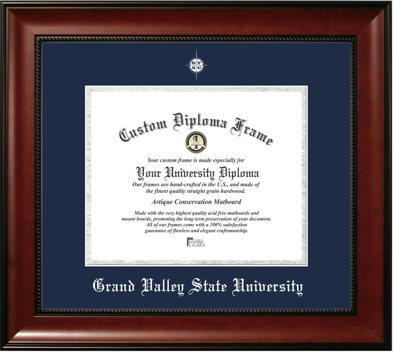 Grand Valley State University Graduation Diploma Frame