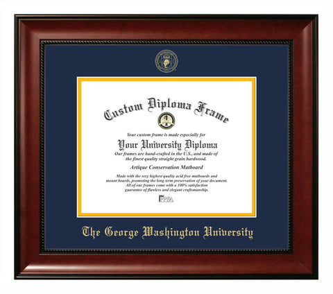 George Washington University Revere Diploma Frame