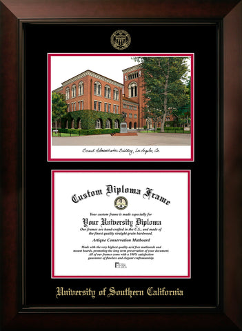 University of Southern California Campus Image Diploma Frame