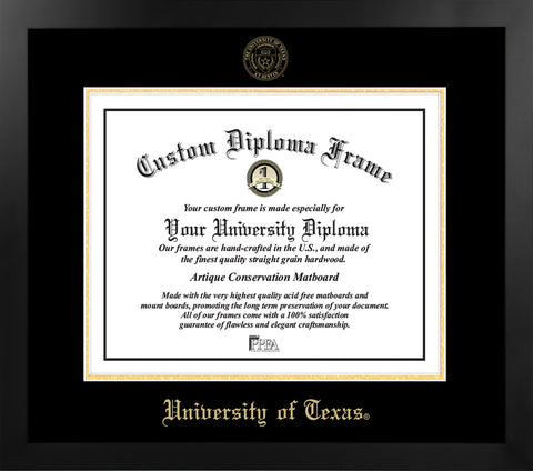 University of Texas Most Popular Diploma Frame
