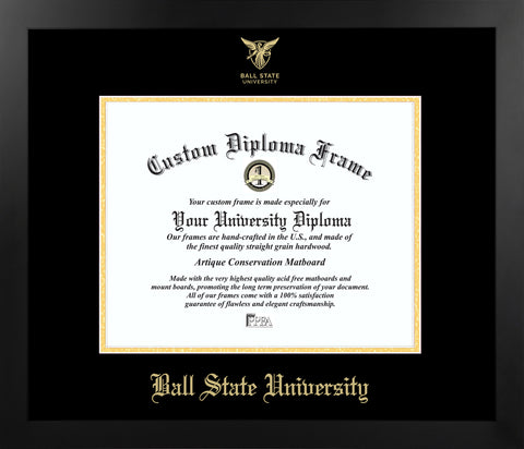 Ball State University Most Popular Diploma Frame