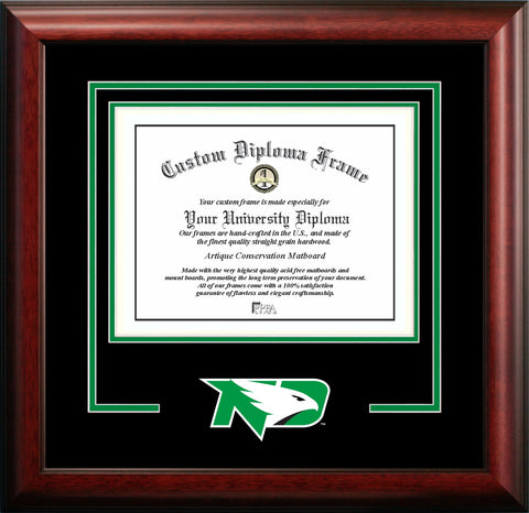 University of North Dakota Logo Diploma Frame