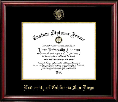 University of California San Diego Affordable Diploma Frame