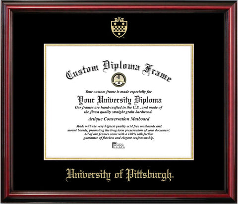 University of Pittsburgh Affordable Diploma Frame