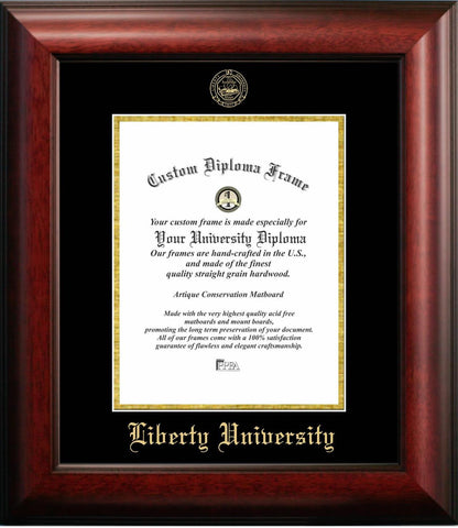 Liberty University Graduation Diploma Frame