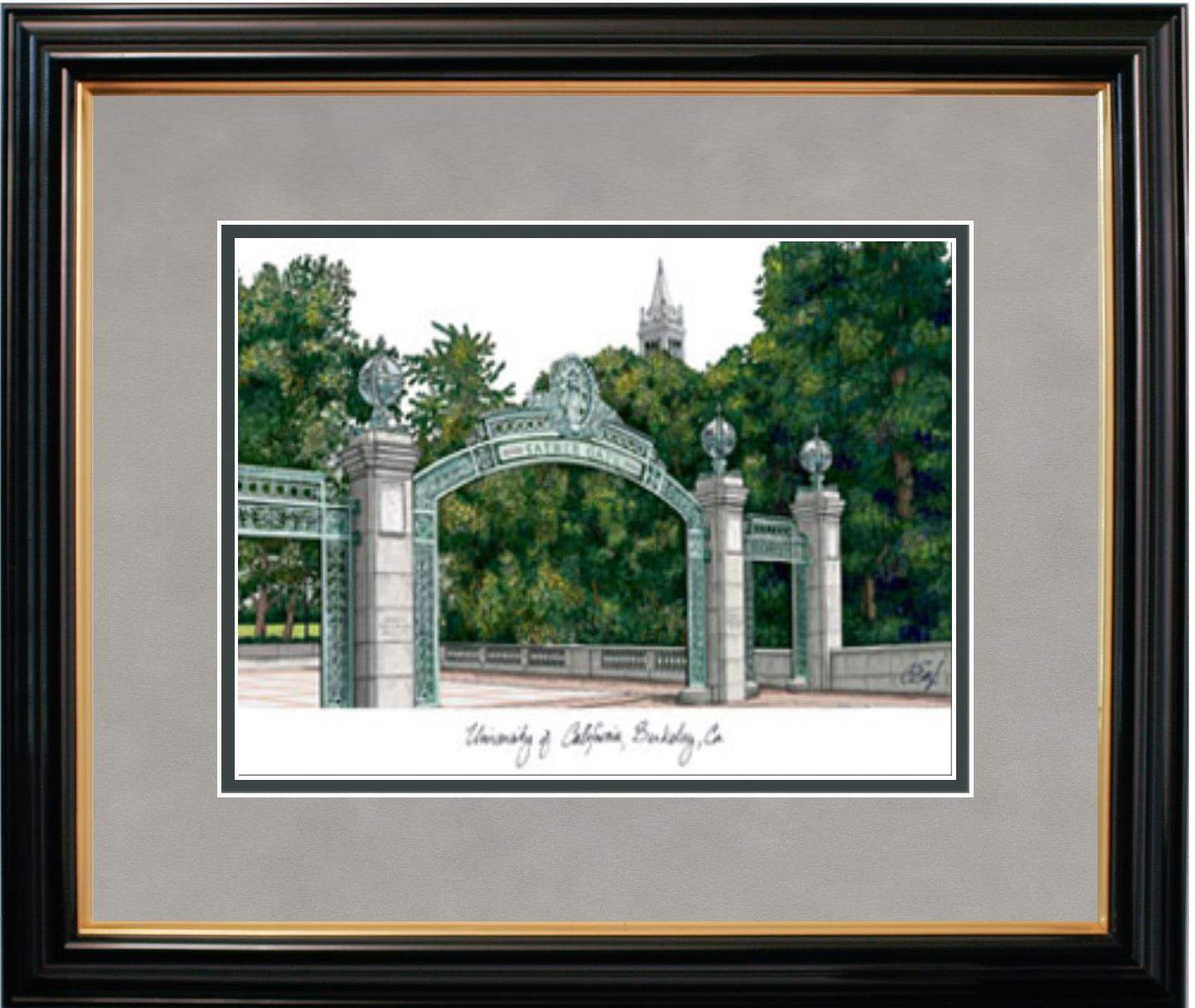 University of California Berkeley Campus Picture Frame