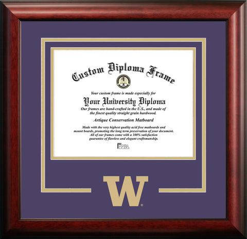 University of Washington Logo Diploma Frame