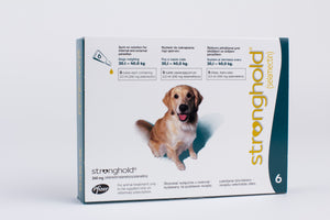 Stronghold Teal for Dogs 20.1-40kg (44-88lb) 6 Pipettes
