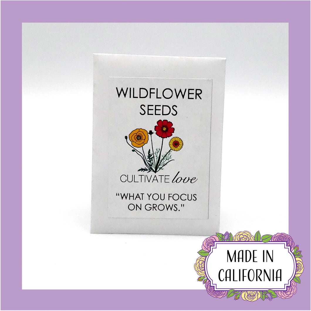 Cultivate Love Wildflower Seed Mix