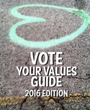 Vote Your Values Zine
