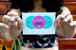 Cultivate Love LA Stickers