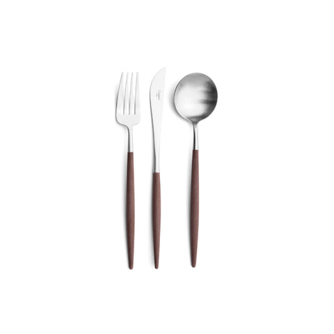 GOA Brown Dinner Cutlery 棕色柄 正餐 餐具