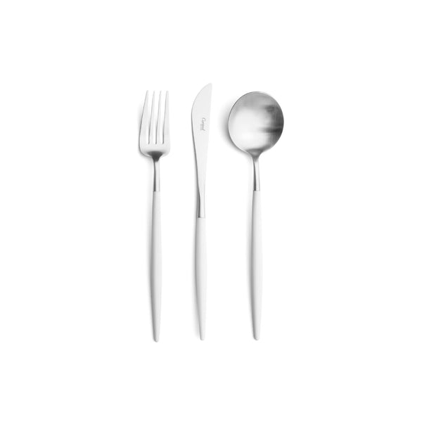 GOA White Dinner Cutlery 白色柄 正餐 餐具