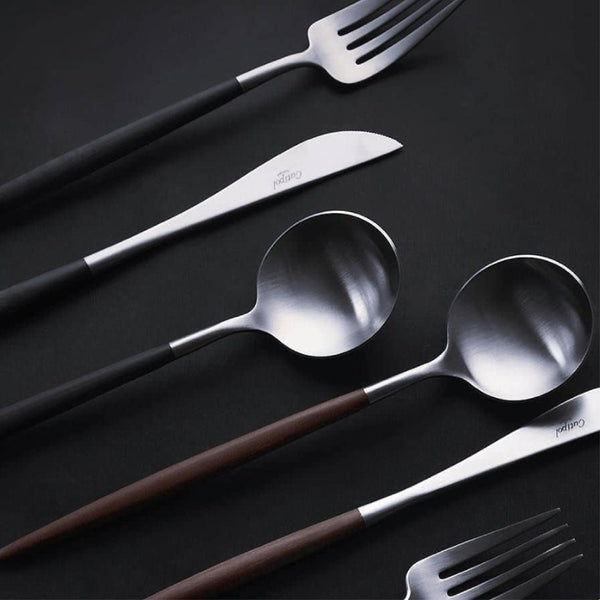 GOA Black Dinner Cutlery 黑色柄 正餐 餐具