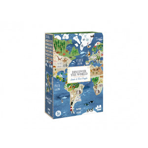 Discover The World Puzzle 拼圖