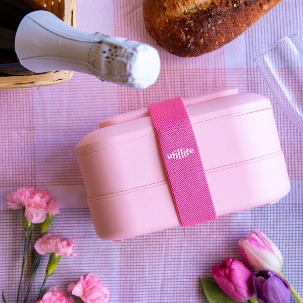 Utillife FRESHBENTO Lunch Box - Home Pink