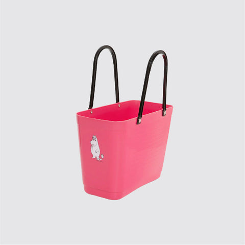 Small Green Plastic Hinza bags 小號環保多功能籃 ( Pink ) 科妮 The Snork Maiden