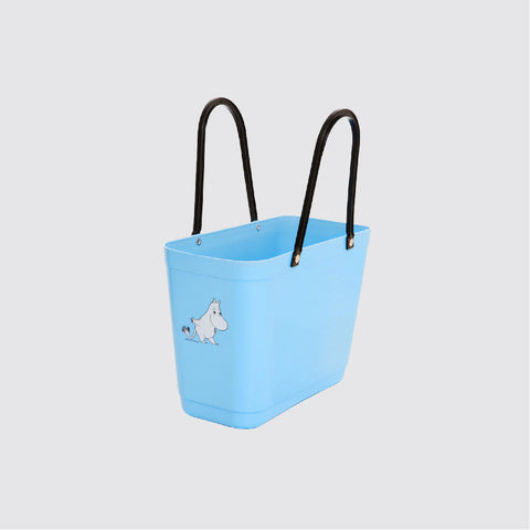 Small Green Plastic Hinza bags 小號環保多功能籃 ( Light Blue ) 姆明 Moomintroll
