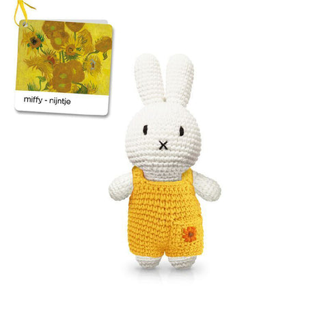 Miffy handmade and her sunflower overall 梵高博物館特別版