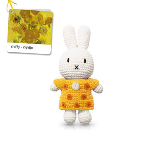 Miffy handmade and her sunflower dress 梵高博物館特別版
