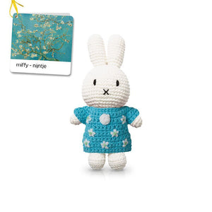 Miffy handmade and her almond blossom dress 梵高博物館特別版