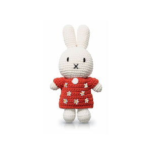Miffy handmade and her red flower dress