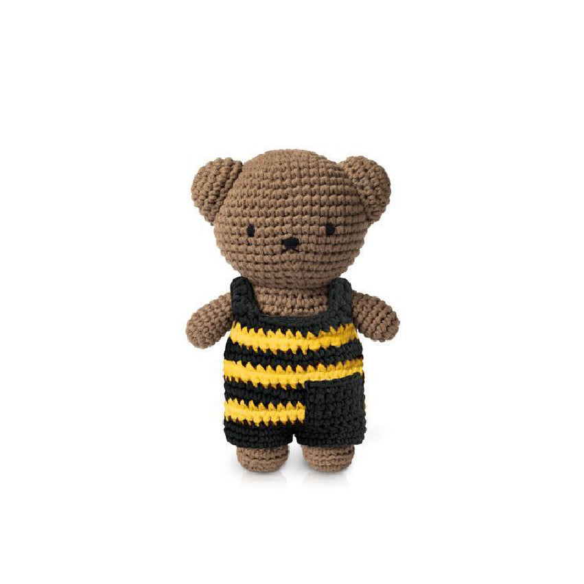 Boris handmade and his striped bee overall