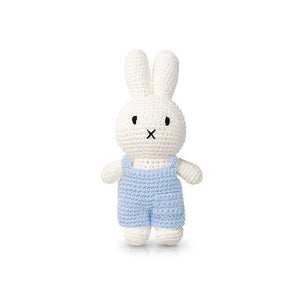 Just Dutch Miffy handmade and her pastel blue overall