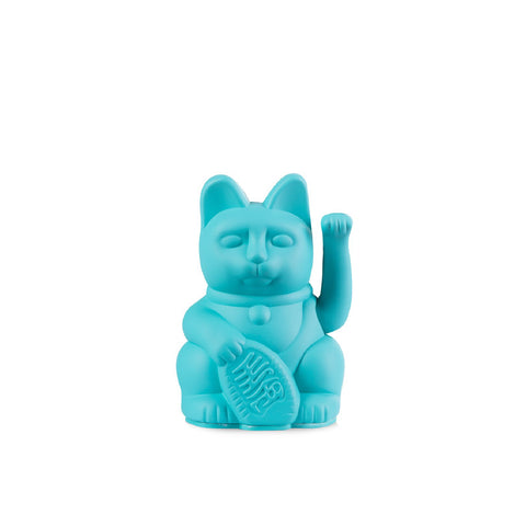 Lucky Cat Mini Turquoise MANEKI NEKO by Donkey