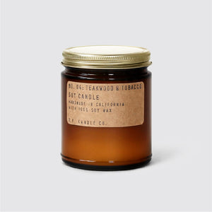 PF Candle Co No.04 Teakwood Tobacco Candle