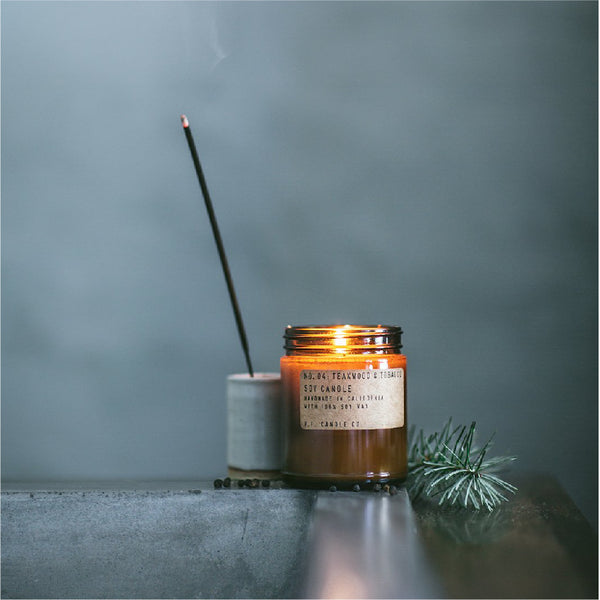 No.04 Teakwood Tobacco Candle 柚木煙草香薰蠟燭