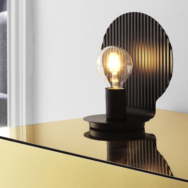Tivoli by Normann Copenhagen Plate Table Lamp EU Black