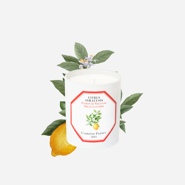 Carriere Freres Siracusa Lemon Candle