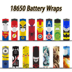 Animated Battery Wraps 18650