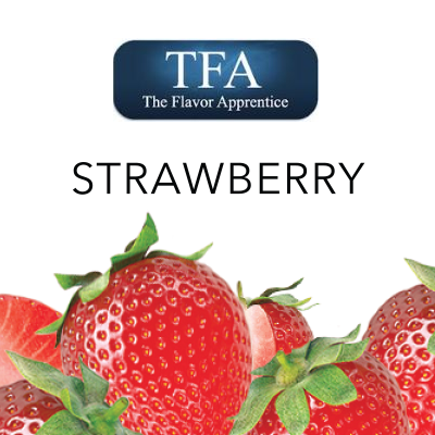 TFA Strawberry-DIY Concentrates – www.flavourworld.co.za