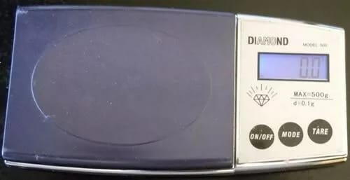 Electronic Pocket Scale Diamond Model 500
