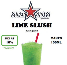 (SS) Lime Slush one shot