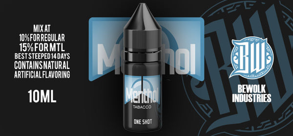Thrifty Clouds Bewolk - Menthol Tobacco One Shot