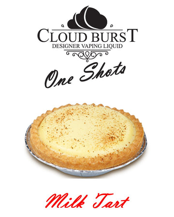 Cloud Burst One Shots - Milk Tart