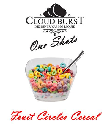 Cloud Burst One Shot - Fruit Circles Cereal