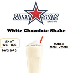 (SS) White Chocolate Shake - One shot