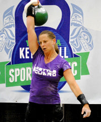 Jennifer Cord - Master of Sport World Class, World Record Holder in 26kg Long Cycle
