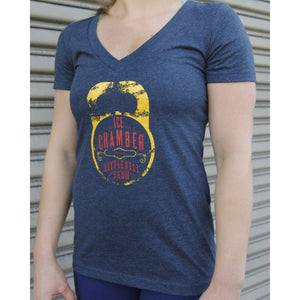 Ice Chamber Kettlebell Team Women's Tee - Heather Grey