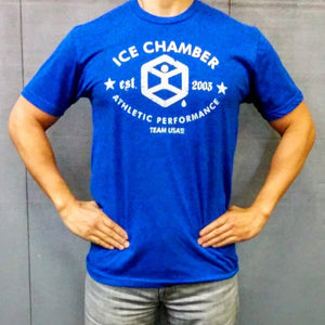 Ice Chamber Logo Tee - Royal Blue