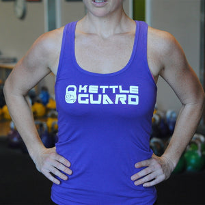 KettleGuard Women's Racer Tank Top - Purple