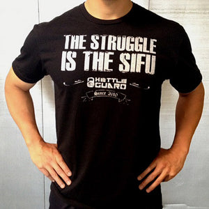 """The Sifu"" Men's Crew Tee - Black"