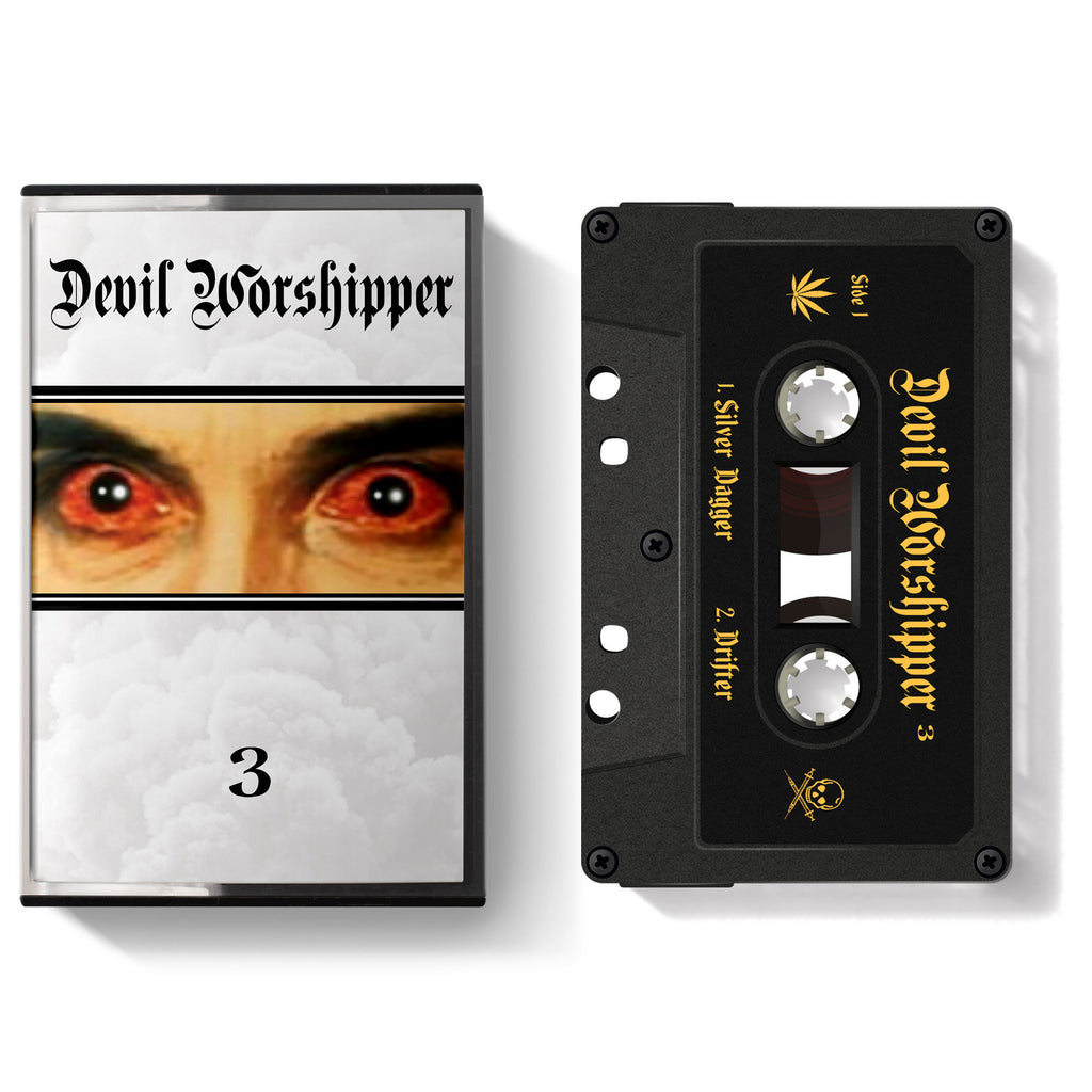 Devil Worshipper '3' Cassette/Shirt/Sticker Bundle