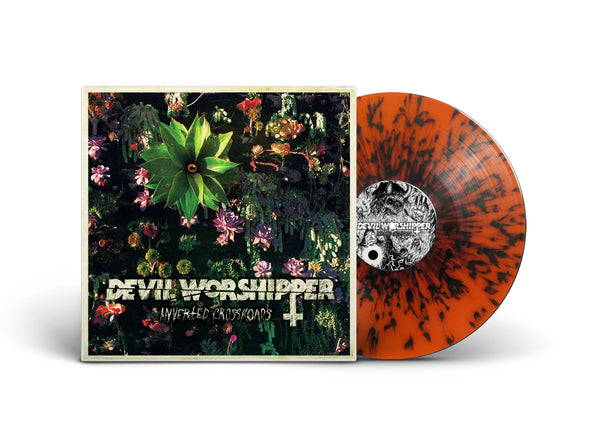 "DEVIL WORSHIPPER 'Inverted Crossroads' EP (SPLIT 12"" EP)"